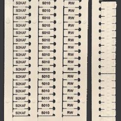 SI2KAF5010RW Automatic Terminal Tag